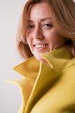 Blonde mature happy woman portrait Royalty Free Stock Photo