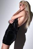 Blonde, menina 2 da forma do encanto imagens de stock