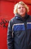 Blonde mens royalty-vrije stock foto's
