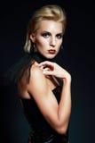 Blonde model posing Royalty Free Stock Photography
