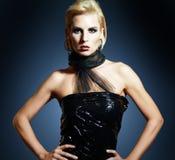 Blonde model posing Stock Image
