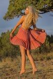 Blonde Model Royalty Free Stock Image
