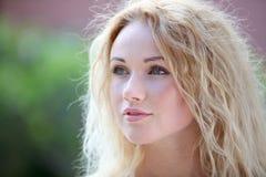 Blonde natürliche Frau Stockbilder