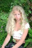 Blonde Nixe Lizenzfreies Stockfoto