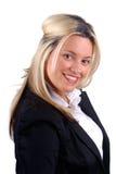 Blonde Onderneemster Stock Foto's
