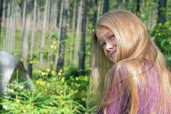 Blonde poco dañoso Imágenes de archivo libres de regalías