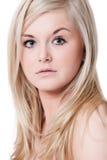 Blonde portrait royalty free stock photo