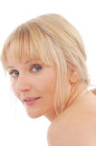 Blonde portrait Stock Photo