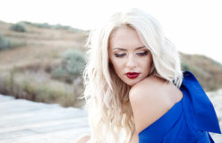 Blonde portrait Royalty Free Stock Images