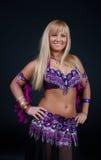 Blonde  is posing in studio Stock Photo