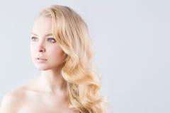 Blonde principale Image libre de droits
