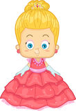 Blonde Prinzessin Lizenzfreies Stockfoto
