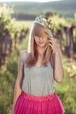 Blonde Prinzessin Lizenzfreie Stockfotografie