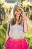 Blonde Prinzessin Stockfotografie