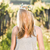 Blonde Prinzessin Lizenzfreie Stockbilder