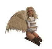 Blonde Rebel Angel Royalty Free Stock Photography