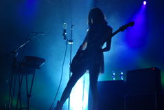 Blonde Redhead Stock Photography
