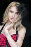 Blonde reizvolle Frau Lizenzfreie Stockfotos