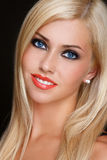 Blonde Schönheit Lizenzfreies Stockbild