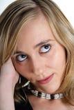 Blonde Schönheit No.5 Stockfotografie