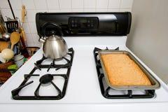 Blonde Schokoladenkuchen Stockfotografie
