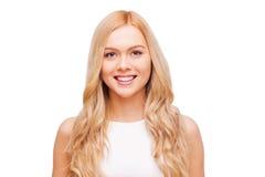 Blonde Schoonheid Stock Afbeelding