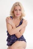 Blonde sensual imagen de archivo