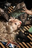 Blonde 'sexy' foto de stock royalty free