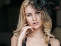 Blonde woman Royalty Free Stock Images