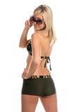 Blonde Sonnenbrillen Lizenzfreie Stockbilder