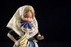 Blonde spanish doll Stock Photo