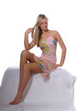 Blonde Supermodel Royalty Free Stock Image