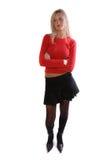 Blonde Supermodel stock photo
