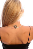 Blonde tat two stock photos