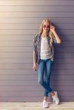 Blonde teenage girl Royalty Free Stock Image