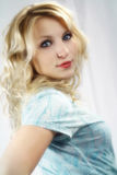 Blonde Teenager Stock Images