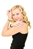 Blonde vorbildliche Frau Stockfotos