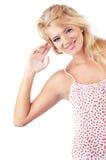Blonde vrouwen Royalty-vrije Stock Afbeeldingen