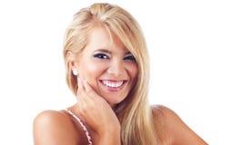 Blonde vrouwen Royalty-vrije Stock Fotografie