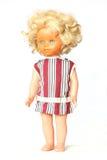 Blonde Weinlese der Puppen Stockbilder