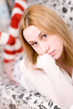 Blonde woman Stock Photography