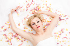 Blonde woman Royalty Free Stock Photo