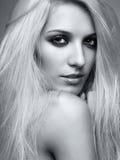 Blonde woman Stock Photo