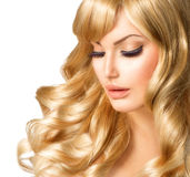 Blonde Woman Portrait Royalty Free Stock Image
