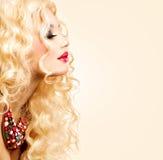 Blonde Woman Portrait Royalty Free Stock Photos