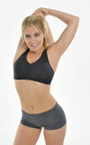 Blonde woman - workout Royalty Free Stock Photography