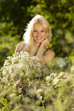 Blonde Young girl Royalty Free Stock Images