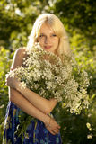Blonde Young girl Stock Image