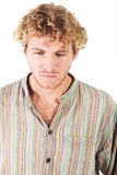 Blonde young man Royalty Free Stock Photo
