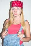 Blonder Erbauer Lizenzfreies Stockfoto